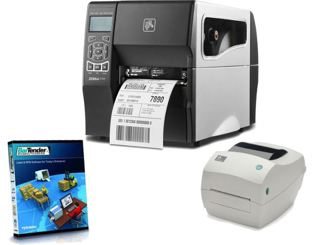 Εκτυπωτές Barcode - Επιτραπέζιοι & Βιομηχανικοί